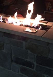 Picture of the firepit