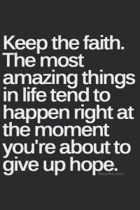 Keep-the-faith